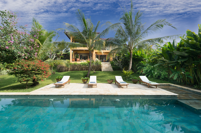 Photo de VILLA WHITE SAWAH à Bali